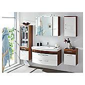 Posseik Laonda 68 x 90cm Mirror Cabinet - Anthracite