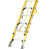 Trade 2.6m (8.53ft) Fibreglass Double Extension Ladder