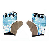 Avenir Womens Bicycle Track Mitts / Gloves - Black