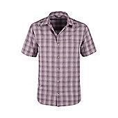 Weekender Shirt Mens Short Sleeve Lightweight Casual Cotton Tee-Shirt T-Shirt - Grey