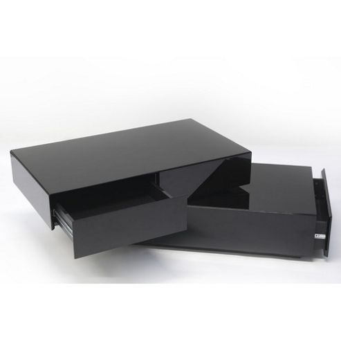 Buy Rge Basebox Coffee Table Lacquer High Gloss Black From Our Coffee Tables Range Tesco