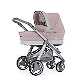 Bebecar Ip-Op Evolution Magic Silver Combi Pram (Candy Floss)