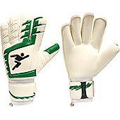 Precision Gk Classic Rollfinger Junior Goalkeeper Gloves - White