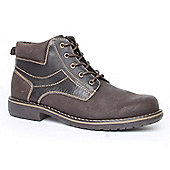 Emilio Luca Blaze Brown Mens Ankle Boot - Brown