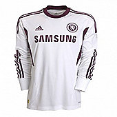2011-12 Chelsea Adidas Away Goalkeeper Shirt (Kids) - White