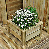 Timberdale Square Planter 41x41x26