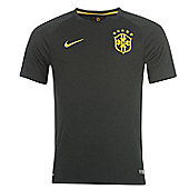 2014-15 Brazil Third World Cup Football Shirt - Black