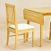Value by Wayfair Avens Extendable Dining Table and 2 Chairs - Mahogany