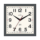 Acctim 22317 Rydon Wall Clock - Grey London Sky