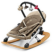 Concord Rio Baby Rocker with Toy Bar (Almond Beige)