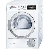 Bosch WTW85490GB Condenser Tumble Dryer, 8kg, A++ Energy Rating, White