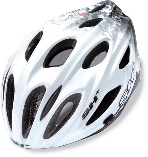 SH+ Stream Helmet: White/Black S/M.