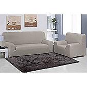Elainer Home Living Carla 1 Seater Sofa Cover - Linen