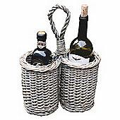 Willow Bottle Holder - Holds 2 Bottles