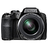 Fuji S9800 Digital Bridge Camera, 16.2MP, 50x Optical Zoom, Black