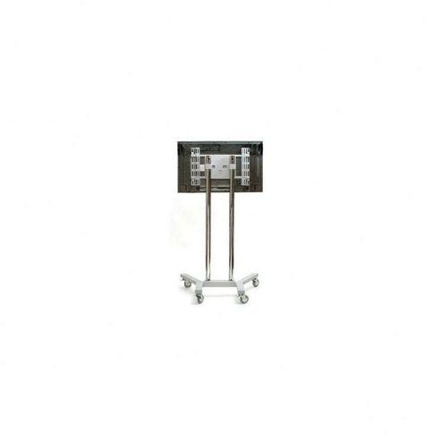 B-tech Heavy Duty Flat Screen TV Stand - Silver