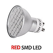 MiniSun 5W 27 SMD LED GU10 Light Bulb Red