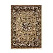 Think Rugs Regency Beige Tranditional Rug - 160 cm x 220 cm (5 ft 3 in x 7 ft 3 in)