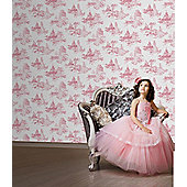 Disney Princess Wallpaper - Princess Toile