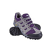 021378 SNOWDON WATERPROOF ISO-GRIP WOMENS SHOE - Purple