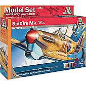 Italeri Spitfire Mk. Vb. Ms71001 1:72 Aircraft Model Set