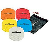 Precision Yellow Round Marker Discs (Set of 10)