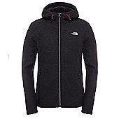The North Face Mens Zermatt Fleece Jacket - Black