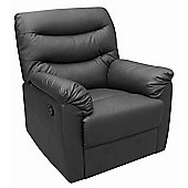 Birlea Regency Recliner Chair - Black