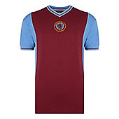 Aston Villa 1982 Home Shirt Claret XL