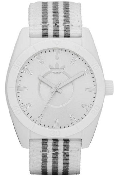 Adidas Unisex White Material Strap Watch ADH2660