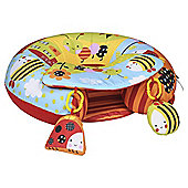 Red Kite Sit Me Up Inflatable Ring Baby Seat Cotton Tail and Friends