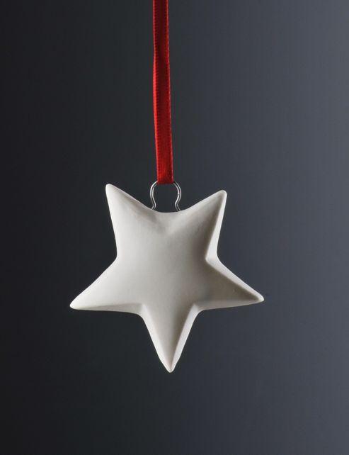 Weimar Star Christmas Tree Decoration (Set of 2)