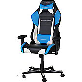 DXRacer Drifting Series Gaming Chair Black / White / Blue OH/DF61/NWB