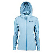 Hebridean Melange Womens Fleece - Blue