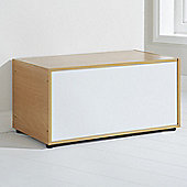 Elements Halden Ottoman - White