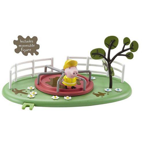Peppa Pig Muddy Puddle Roundabout Playset