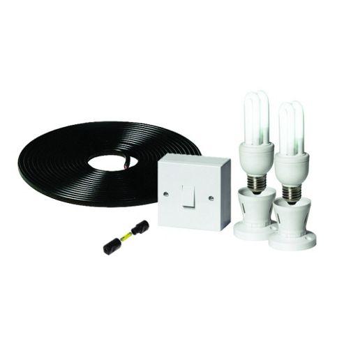 Solar Power Station 12V Lighting Kit