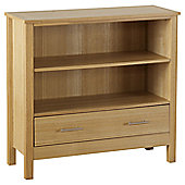 Home Essence Oakleigh 1 Drawer Low Bookcase