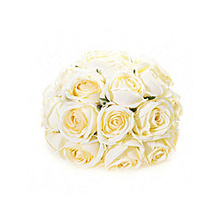 Artificial - Rose Mini Spray - Ivory