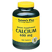 Natures Plus Calcium 600mg 180 Tablets