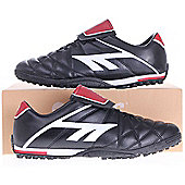 Hi-Tec League Pro Astro Men's Football Boot In Black, White & Red - 7