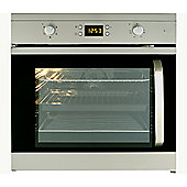 Beko OIF22301XL Side Opening Left Hand Hinge Electric Built-in Single Fan Oven - Stainless Steel