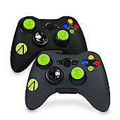 Stealth SX712 Silicone Jackets and Thumb Grips for Xbox 360