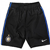 2011-12 Inter Milan Home Nike Football Shorts (Kids)