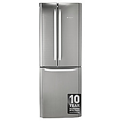 Hotpoint FFU3DX Freestanding, Fridge Freezer, 70cm, A+ Energy Rating, Inox