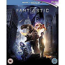 Fantastic Four Blu-ray + Digital HD UV