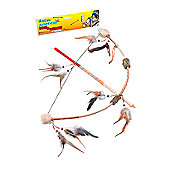 Deluxe Indian Bow & Arrow Set