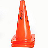"Precision Training Collapsible Safety Cones 12"" (Set of 4)"