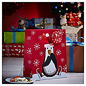 Large Chilly Penguin Christmas Gift Bag