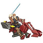 Star Wars Hero Mashers Jedi Speeder & Anakin Skywalker Figure